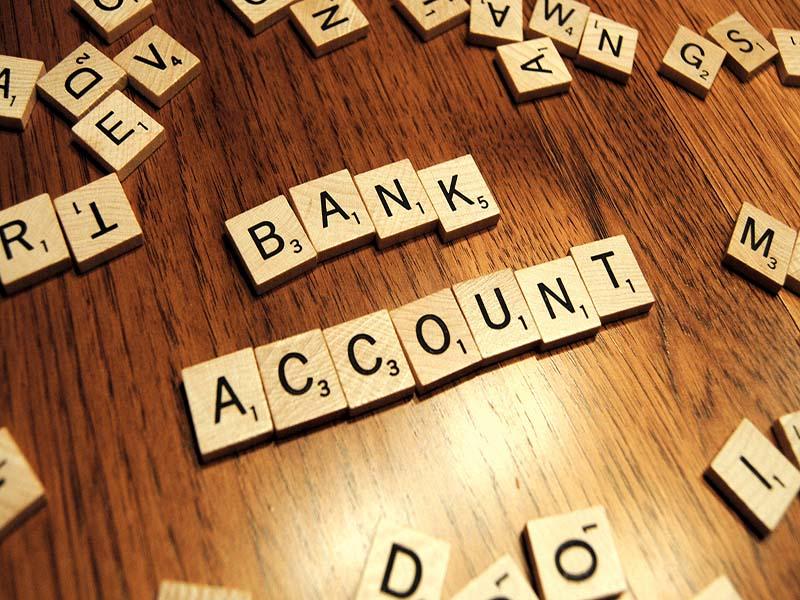 bank account 1